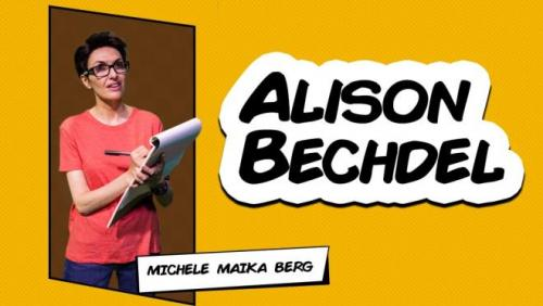 Michele Maika Berg as Alison Bechdel
